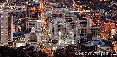 Salt Lake City im Stadtzentrum gelegen
