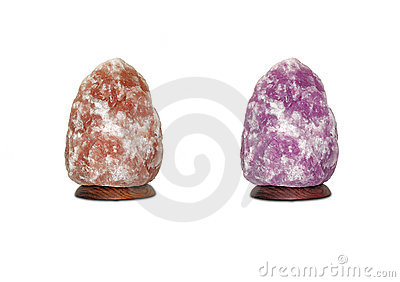 Salt Lamps Royalty Free Stock Photo - Image: 2733485