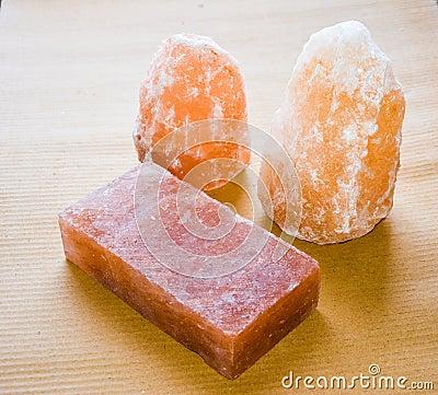 Free Salt Lamps & Tile Stock Image - 83749701