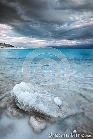 Salt mineral at Dead Sea