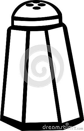 Free Salt Or Pepper Shaker Vector Illustration Stock Photos - 1519573