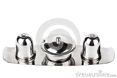 Salt and pepper jar set