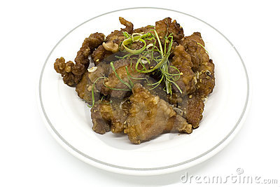 Salt and Pepper Pork Spare Rib