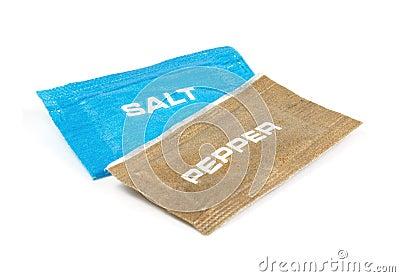 Salt and pepper sachets