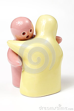 Salt and pepper shaker stock photo image 58474619 - Salt and pepper hug ...