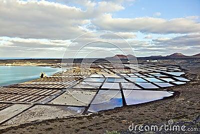 Salt refinery, Saline from Janubio,