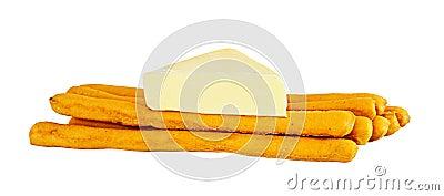 Salt Sticks With Cheese