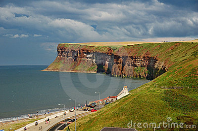 Saltburn Cliffs, Northern England