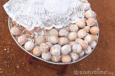Salted Boiled Eggs