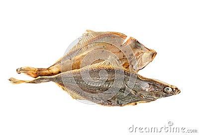 Salted flounder