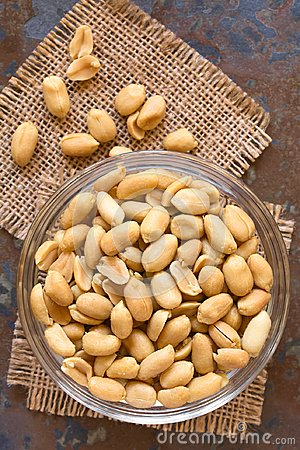 Free Salted Peanuts Stock Photography - 100462862