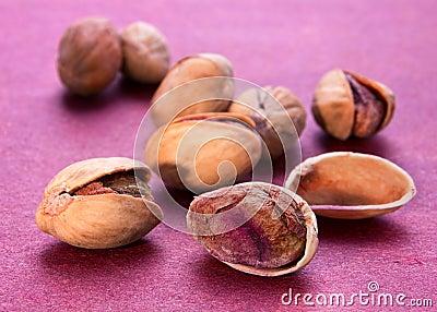 Salted pistachio