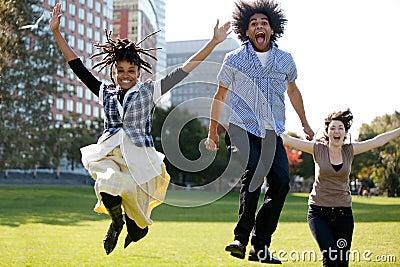 Salti per la gioia
