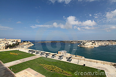 The Saluting Battery, Upper Barracca, Malta