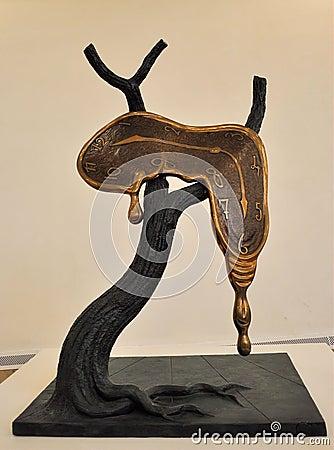 Salvador Dali Sculpture Editorial Image