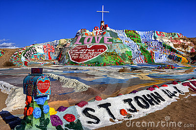 Salvation Mountain (HDR)