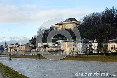 Salzach River, Salzburg, Austria