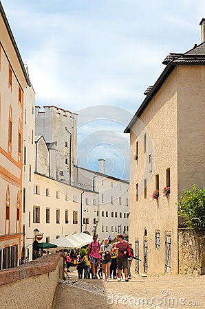 Salzburg, Austria Editorial Stock Photo