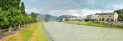 Salzburg, Austria Editorial Photo