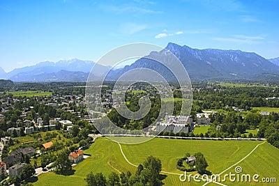 Salzburg province view