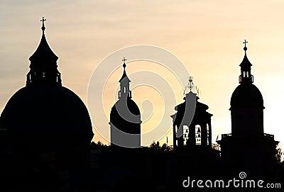 Salzburg spires