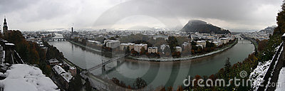 Salzburg Winter Panorama
