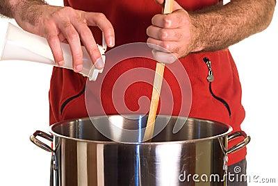 Salzige Suppe