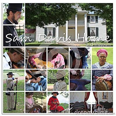 Sam Davis Home and Museum Editorial Photo