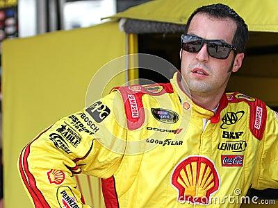 Sam Hornish Jr. at track Editorial Stock Photo
