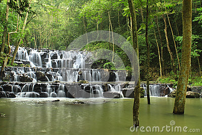 Sam Lan waterfall