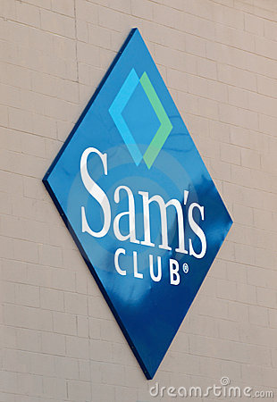 Sam s club logo Editorial Stock Image