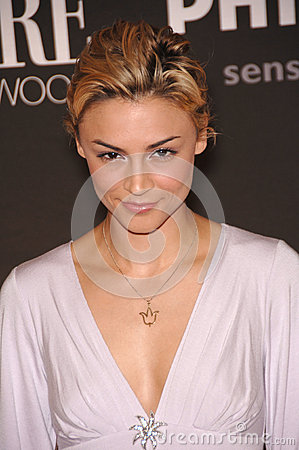 Samaire Armstrong Editorial Stock Photo