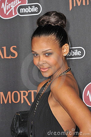 Samantha Mumba Editorial Stock Photo