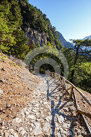 Free Samaria Gorge On Crete Royalty Free Stock Photo - 73229265