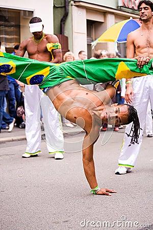 Samba capoeiristas Editorial Photo