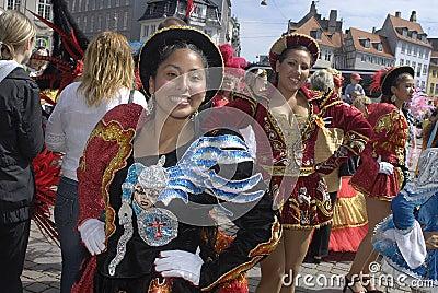 SAMBA DANCE CARIVAL FESTIVAL Editorial Stock Image