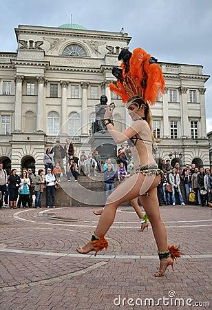 Samba dancers Editorial Photography