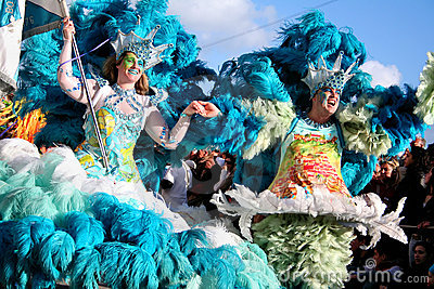 Samba Dancers in Carnival Editorial Image
