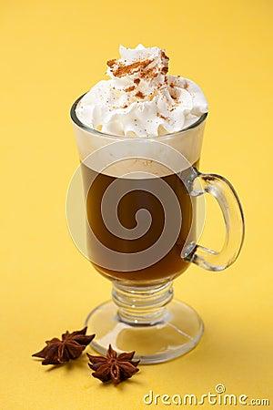 Free Sambuca Coffee Cocktail - Coffee Warmers Stock Photo - 11096970