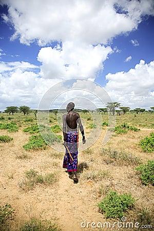 Samburu chief