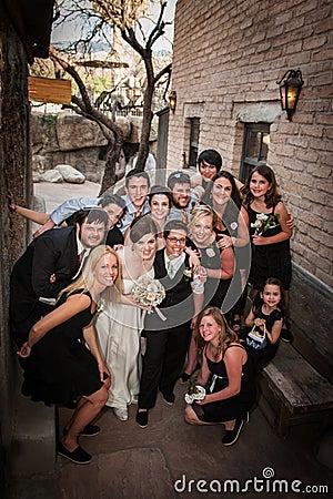 Same Sex Wedding Party
