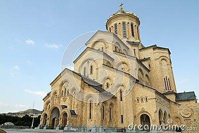 Sameba Orthodox cathedral in Georgia