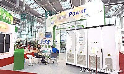 Samil power solar inverter manufacturer Editorial Image