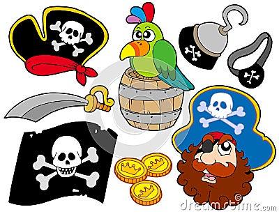 Samling 8 piratkopierar