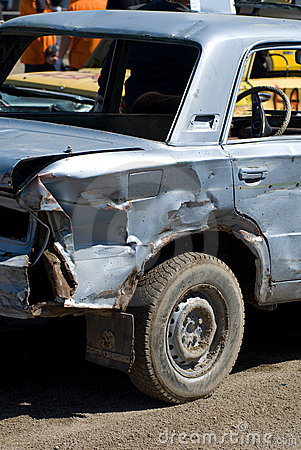 Samochód uszkodzony