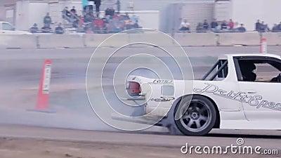 Samochodowy ścigać się motorowych sportów akcja zbiory