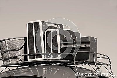 Samochodowy bagaż