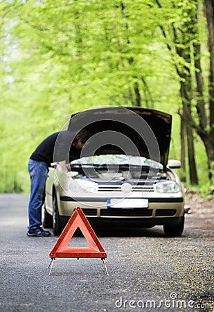 Samochodowy kłopot