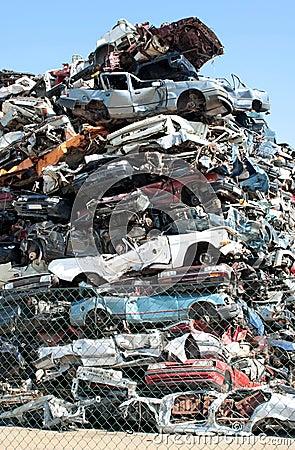 Samochodu junkyard
