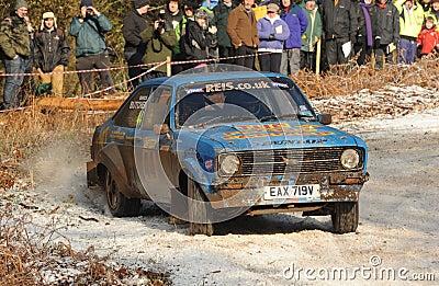 Samochodu wiec Zdjęcie Stock Editorial